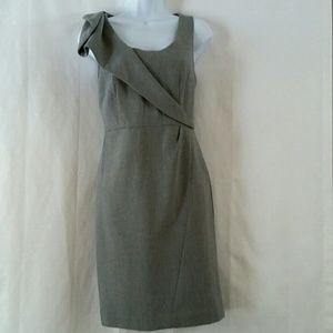 NWOT Ann Taylor Loft Gray Dress